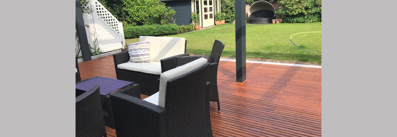 ambooo Terrassendielen aus Bambus kaufen - Diele Select, Farbton coffee, Profil (glatt / französisch)