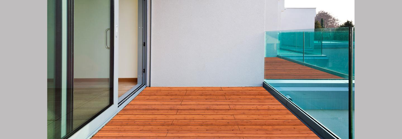 ambooo Terrassendielen aus Bambus kaufen - Diele Supreme, Farbton coffee, Profil (glatt / französisch)