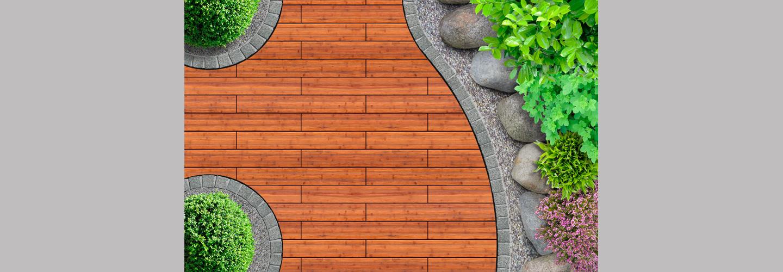 ambooo Terrassendiele aus Bambus kaufen - Diele Top Deck, Farbton coffee, Profil (glatt/ französisch)