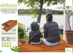 ambooo Terrassendiele aus Bambus kaufen - Diele Prestige, coffee