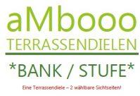 ambooo Terrassendiele aus Bambus kaufen - Bank / Stufe, coffee oder espresso