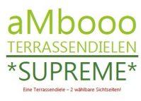 ambooo Terrassendiele aus Bambus kaufen - Diele Supreme, coffee