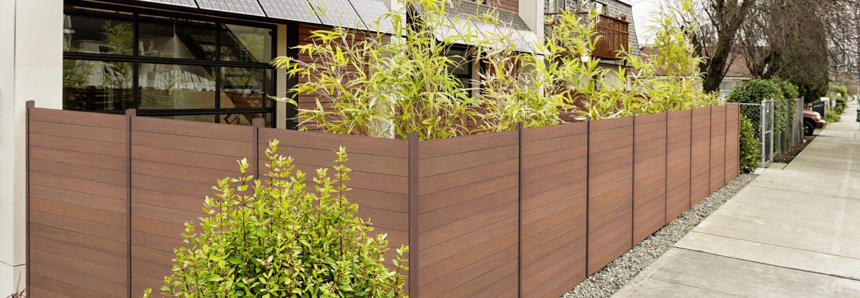 Sichtschutz Deluxe mit Bambuspfosten