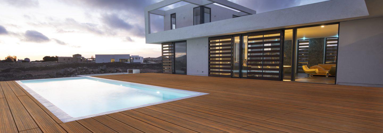 Terrassendiele aus Bambus Prestige