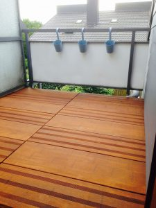Balkonfliese MEGA DECK aus Bambus